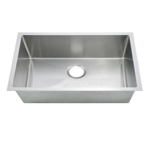 Ksh30189l Fabricated Small Radius Undermount Single Bowl Kitchen Sink Oakland